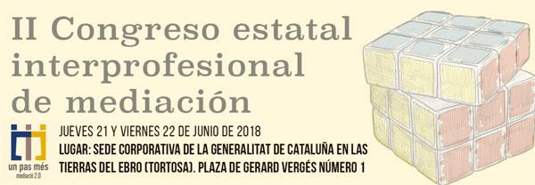 II Congreso Estatal Interprofesional sobre Mediación