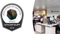 Grant Thornton elegida una de las 50 mejores empresas del mundo para trabajar