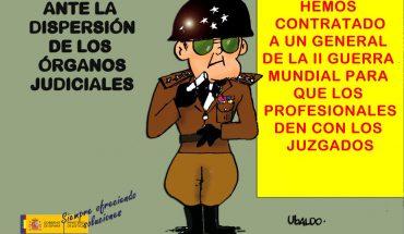 UBALDO dispersion judicial