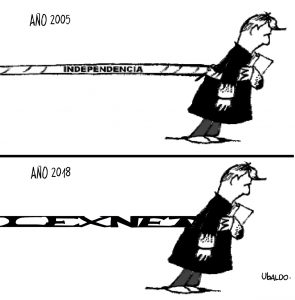 baldo Independencia Judicial