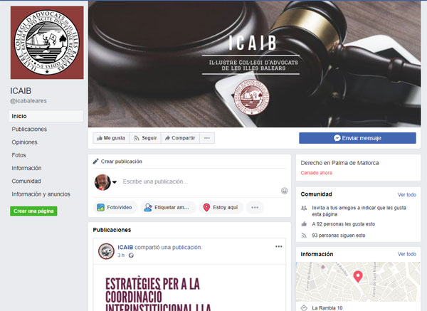 ICAIB Redes Sociales