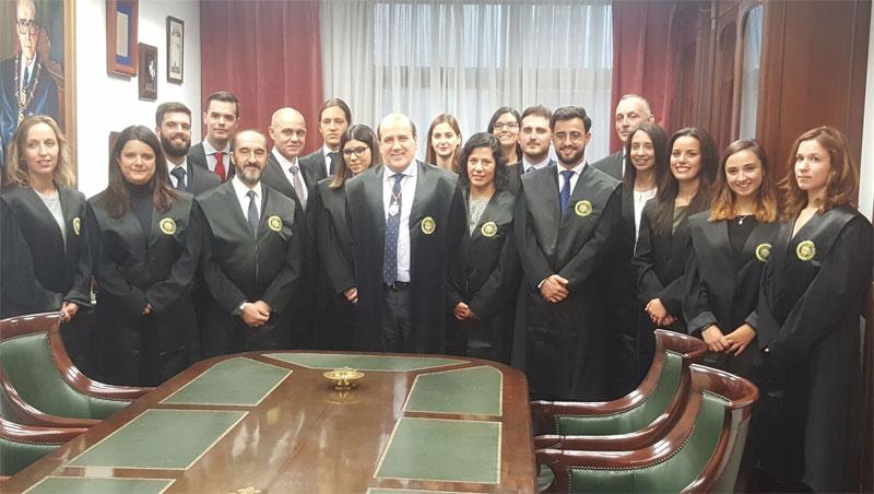 El ICA A Coruña acoge a 19 nuevos letrados