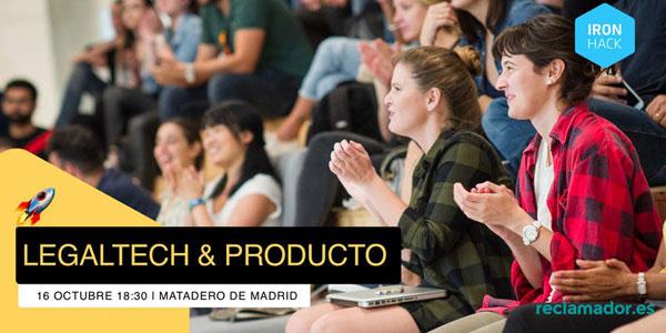 Jornada Legaltech y Producto en Matadero Madrid