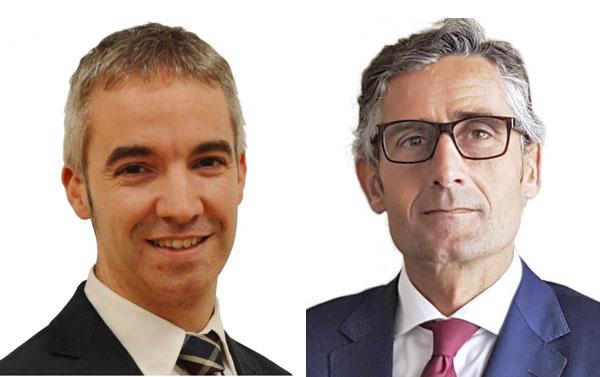 Auren Ignacio Pérez Dapena y Miguel Ángel Crespo
