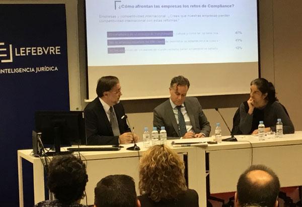 I Diálogo de Compliance ASCOM organizado por ICAB y Lefebvre