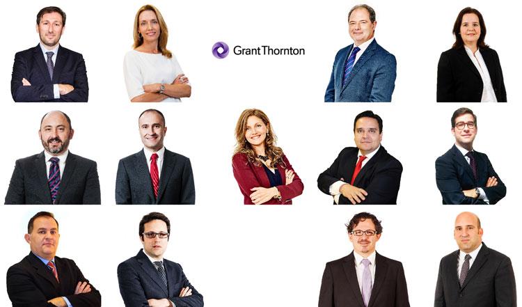 Grant Thornton nombra a 13 nuevos Socios