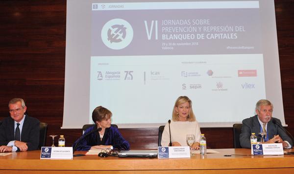 VI Jornadas sobre Prevención y Represión del Blanqueo de Capitales