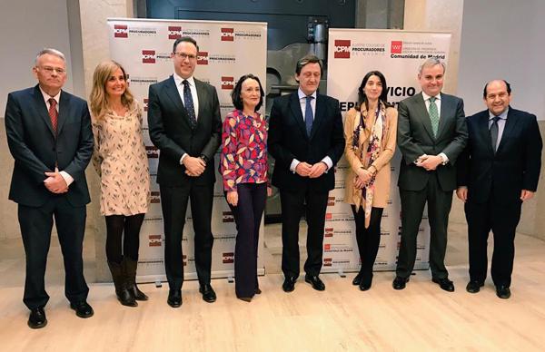 Procuradores de Madrid reúne expertos en violencia de género en debaten sobre ciberviolencia