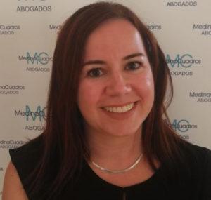 Laura Fernández Maqueda, abogada especialista en Derecho Inmobiliario y Laboral de Medina Cuadros Granada