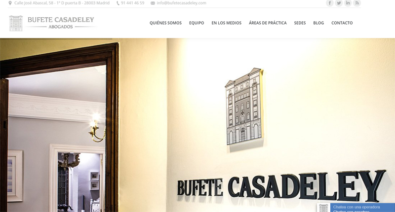 Bufete Casadeley Web