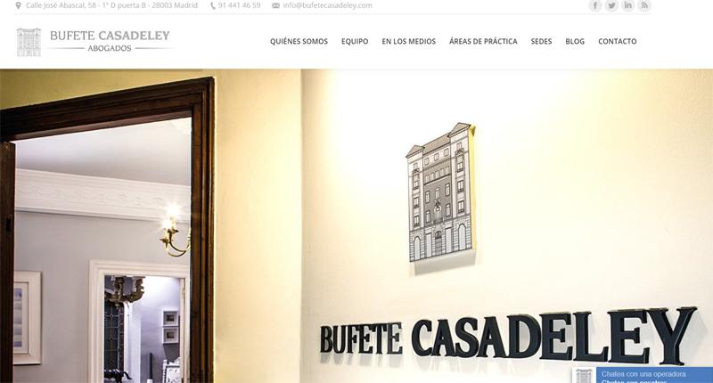 Bufete Casadeley Web