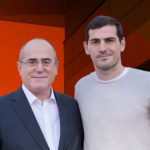 Jesus Maria Arriaga e Iker Casillas