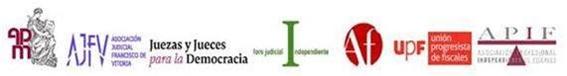 asociaciones judiciales y fiscales