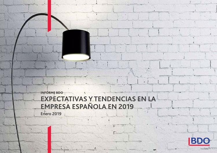 Tendencias en la Empresa Española en 2019 de BDO