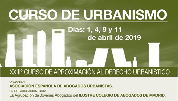 XXIIIº Edición del Curso de Derecho Urbanístico