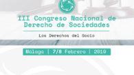 III edición del Congreso Nacional de Derecho de Sociedades