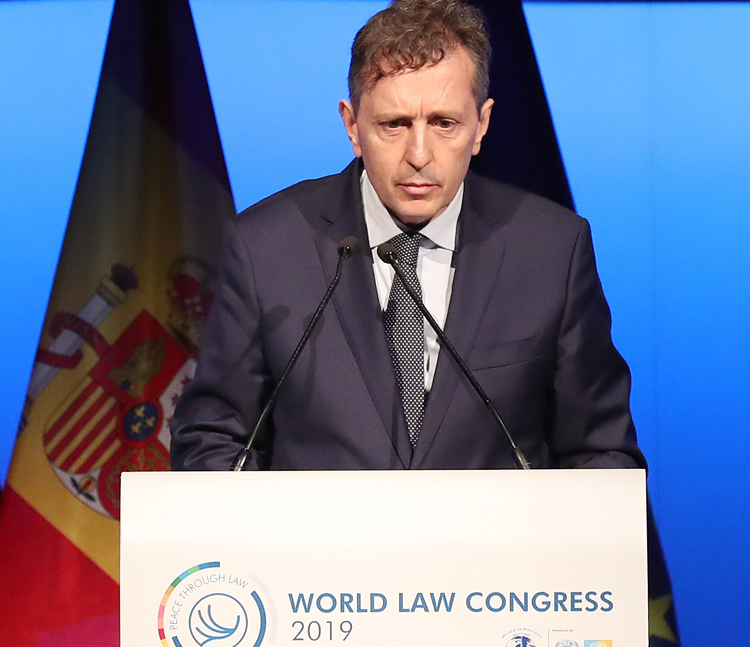 Javier Cremades, presidente de la World Jurist Association