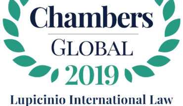 Lupicinio International Law Chambers & Partners 2019