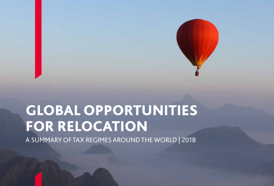 Global opportunities report for relocation