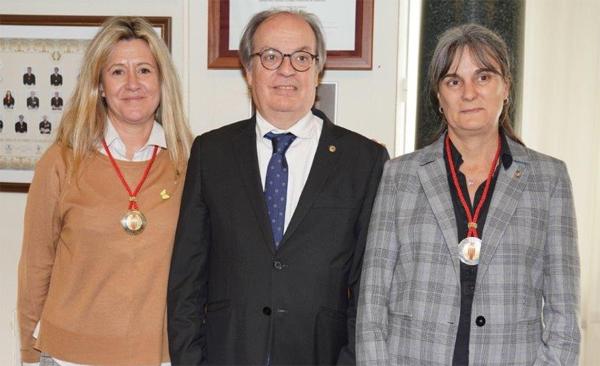 decanas de ICA de Tortosa y ICA Sant Feliu de Llobregat