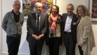 Antonio Alonso, Antonio Garrigues, Lourdes Prieto, Ángel Carracedo y Cristina Jiménez