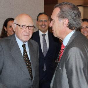 José Pedro Pérez-Llorca  y José María Alonso