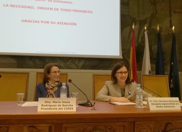 Pilar Martínez denuncia el abandono del campo español