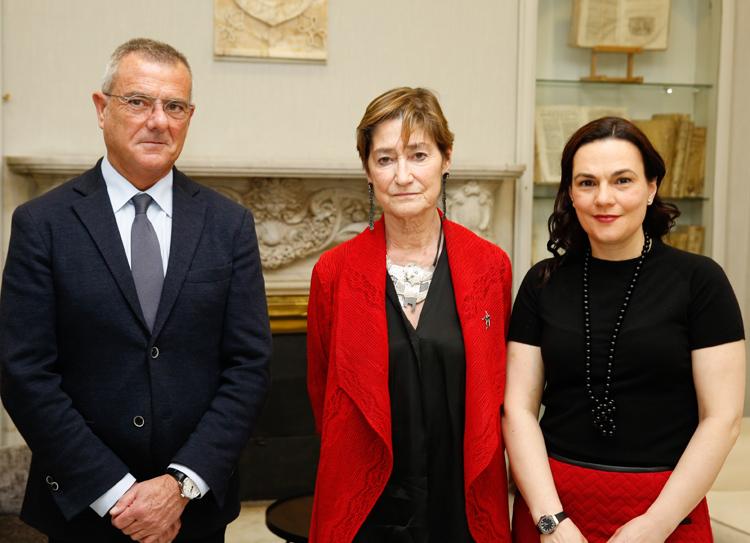 Rafael Bonmati, Victoria Ortega y Carmen Perez Andujar