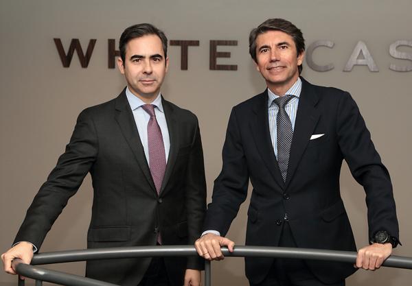 Ignacio Madalena, Counsel de White & Case en España, y Juan Manuel de Remedios, socio director de White & Case en España