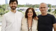 Pablo Fernández, Paloma Llaneza y Ramón López de Mántaras