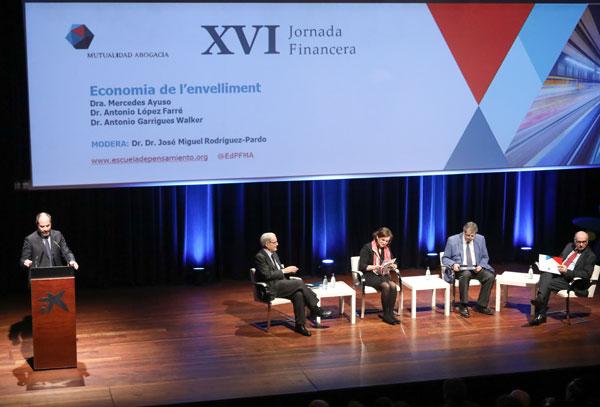 XVI Jornada Financiera de la Mutualidad de la Abogacía