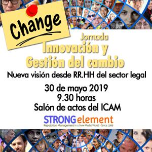 Jornada Innovación y Gestión del cambio - Nueva visión desde RR.HH del sector legal