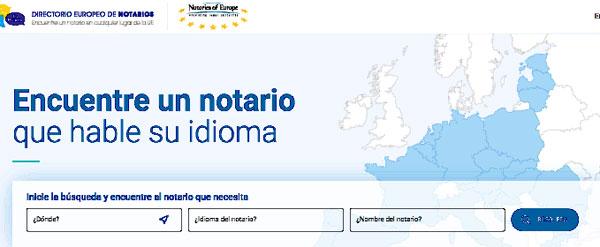 Directorio Europeo de Notarios
