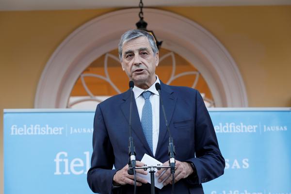 Agustí Bou, presidente Fieldfisher JAUSAS