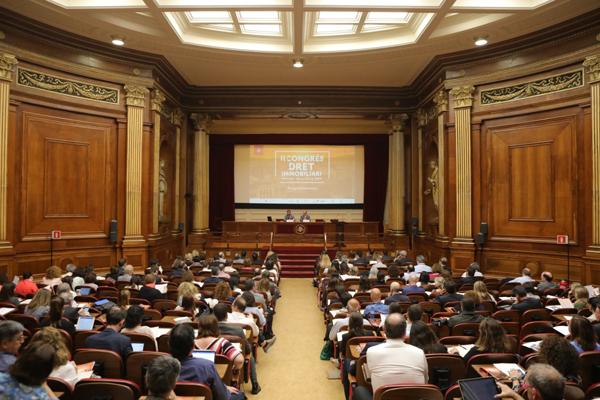 II Congreso de Derecho Inmobiliario ICAB