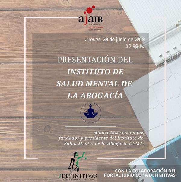 """Presentación del """"Instituto de Salud Mental de la Abogacía"""""""