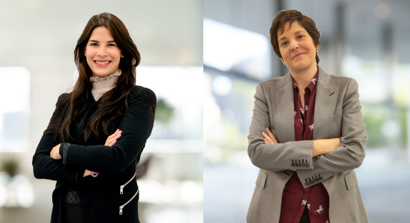 Marina Reig Viniegra y Elena Martín