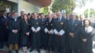concentración convocada por el Colegio de Abogados de Málaga